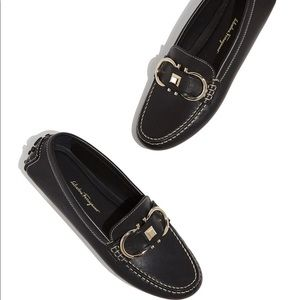 { Salvatore Ferragamo } Breno Nero Loafers